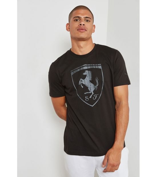 Футболка Puma Ferrari Big Shield Tee 57524101 оригинал