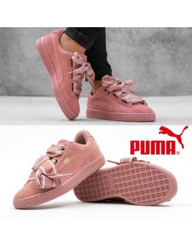 Кеды puma suede heart satin 36408403  sale оригинал